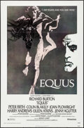 Movie Posters:Drama, Equus (United Artists, 1977). Folded, Very Fine+. ...