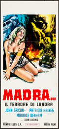 Movie Posters:Science Fiction, Blood Beast from Outer Space (Mary Film, Late 1969). Folde...