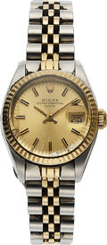 Timepieces:Wristwatch, Rolex Lady's Ref. 6917 Two Tone Datejust, circa 1982. ...