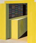 Paintings:Contemporary, Emilio Sánchez (1921-1999). Yellow Store. Oil on canvas. 60-1/2 x 72 inches (153.7 x 182.9 cm). Initialed lower left: ...