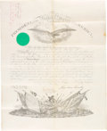 Autographs:U.S. Presidents, Abraham Lincoln Appointment Signed...