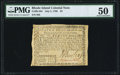 Colonial Notes:Rhode Island, Rhode Island July 2, 1780 $2 PMG About Uncirculated 50.. ...