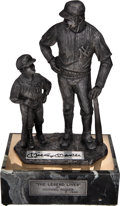 "Baseball Collectibles:Others, 1980's Mickey Mantle Signed ""The Legend Lives"" Limited EditionSculpture Number ""7/500""...."
