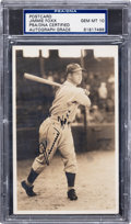Autographs:Photos, Circa 1931 Jimmie Foxx Signed Photograph, PSA/DNA Gem Mint 10....