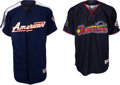 Baseball Collectibles:Uniforms, 2005-09 Mark Buehrle Game Worn & Signed All-Star Game Batting Practice Jerseys Lot of 2 - MLB Authentic. ...