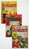 Golden Age (1938-1955):Romance, Young Romance Comics #4-6 and 9 Group (Prize, 1948-49) Condition:Average VG....