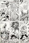 Original Comic Art:Panel Pages, George Pérez and Dan Green Avengers #200 Story Page 23 Original Art (Marvel, 1980)....