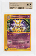Memorabilia:Trading Cards, Pokémon Alakazam #33 For Position Only Expedition SetTrading Card (2002) BGS GM 9.5....