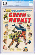 Golden Age (1938-1955):Crime, Green Hornet Comics #43 (Harvey, 1949) CGC FN+ 6.5 Cream to off-white pages....