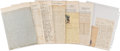 Military & Patriotic:Civil War, William Crawford, 73rd Pennsylvania Infantry Archive....