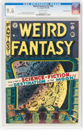 Golden Age (1938-1955):Science Fiction, Weird Fantasy #15 (#3) Gaines File Pedigree 3/11 (EC, 1950) CGC NM+ 9.6 Off-white pages....