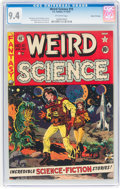 Golden Age (1938-1955):Science Fiction, Weird Science #10 Gaines File Pedigree 7/11 (EC, 1951) CGC NM 9.4 Off-white pages....