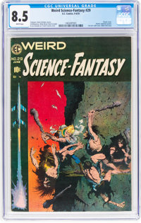Weird Science-Fantasy #29 (EC, 1955) CGC VF+ 8.5 White pages