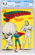 Golden Age (1938-1955):Superhero, Superman #28 (DC, 1944) CGC NM- 9.2 Off-white to white pages....