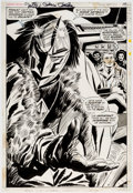 Original Comic Art:Splash Pages, Gene Colan and Frank Giacoia Captain America #126 SplashPage 10 (Marvel, 1970)....