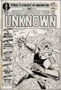 Original Comic Art:Covers, Murphy Anderson From Beyond The Unknown #16 Cover Original Art (DC, 1972)....