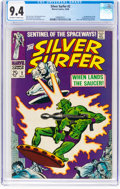 Silver Age (1956-1969):Superhero, The Silver Surfer #2 (Marvel, 1968) CGC NM 9.4 Off-white to whitepages....