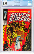 Silver Age (1956-1969):Superhero, The Silver Surfer #3 (Marvel, 1968) CGC VF/NM 9.0 Off-white towhite pages....