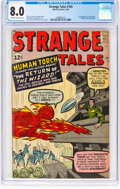 Silver Age (1956-1969):Superhero, Strange Tales #105 (Marvel, 1963) CGC VF 8.0 Off-white to whitepages....