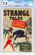 Silver Age (1956-1969):Superhero, Strange Tales #106 (Marvel, 1963) CGC VF- 7.5 Off-white pages....