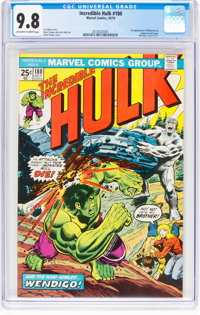 The Incredible Hulk #180 (Marvel, 1974) CGC NM/MT 9.8 Off-white to white pages