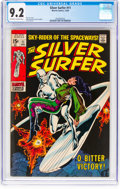 Silver Age (1956-1969):Superhero, The Silver Surfer #11 (Marvel, 1969) CGC NM- 9.2 Off-white to whitepages....