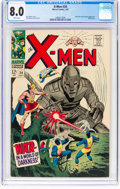 Silver Age (1956-1969):Superhero, X-Men #34 (Marvel, 1967) CGC VF 8.0 White pages....