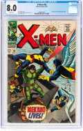 Silver Age (1956-1969):Superhero, X-Men #36 (Marvel, 1967) CGC VF 8.0 White pages....