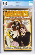 Bronze Age (1970-1979):Horror, Ghosts #1 (DC, 1971) CGC VF/NM 9.0 White pages....