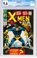 Silver Age (1956-1969):Superhero, X-Men #39 (Marvel, 1967) CGC NM+ 9.6 Off-white to white pages....