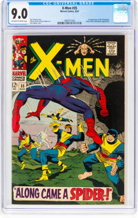 X-Men #35 (Marvel, 1967) CGC VF/NM 9.0 Off-white to white pages