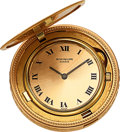 Timepieces:Pocket (post 1900), Patek Philippe, Ref. 801 Gold Ten Dollar Coin Watch, circa 1980's. ...