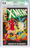 Silver Age (1956-1969):Superhero, X-Men #52 (Marvel, 1969) CGC Qualified VF/NM 9.0 Cream to off-whitepages....