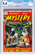 Bronze Age (1970-1979):Horror, Journey Into Mystery #1 (Marvel, 1972) CGC NM 9.4 White pages....