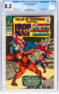 Silver Age (1956-1969):Superhero, Tales of Suspense #88 (Marvel, 1967) CGC VF+ 8.5 White pages....