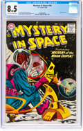 Silver Age (1956-1969):Science Fiction, Mystery in Space #46 (DC, 1958) CGC VF+ 8.5 Off-white to whitepages....