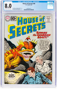 House of Secrets #48 (DC, 1961) CGC VF 8.0 Off-white to white pages