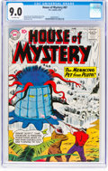 Silver Age (1956-1969):Science Fiction, House of Mystery #87 (DC, 1959) CGC VF/NM 9.0 Off-white pages....