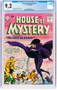 House of Mystery #78 (DC, 1958) CGC NM- 9.2 White pages