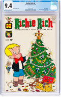 Silver Age (1956-1969):Humor, Richie Rich #8 (Harvey, 1962) CGC NM 9.4 Cream to off-white pages....