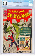 Silver Age (1956-1969):Superhero, The Amazing Spider-Man #2 (Marvel, 1963) CGC VG- 3.5 Off-white towhite pages....