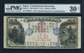World Currency, Japan Greater Japan Imperial National Bank, Tokyo #15 2 Yen ND(1873) Pick 11 JNDA 11-13 PMG Very Fine 30 Net.. ...