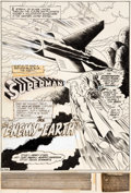 Original Comic Art:Splash Pages, Curt Swan and Murphy Anderson Superman #237 Splash Page 1Original Art (DC, 1971)....