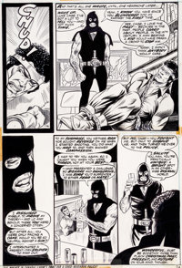 George Tuska and Billy Graham Hero for Hire #7 Page 24 Original Art (Marvel, 1973)