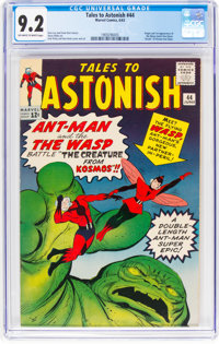 Tales to Astonish #44 (Marvel, 1963) CGC NM- 9.2 Off-white to white pages