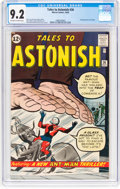 Silver Age (1956-1969):Superhero, Tales to Astonish #36 (Marvel, 1962) CGC NM- 9.2 Off-white to whitepages....