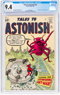 Silver Age (1956-1969):Superhero, Tales to Astonish #39 (Marvel, 1963) CGC NM 9.4 Off-white to white pages....