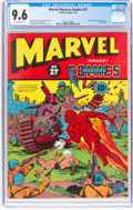Golden Age (1938-1955):Superhero, Marvel Mystery Comics #27 (Timely, 1942) CGC NM+ 9.6 Off-white pages....