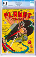 Golden Age (1938-1955):Science Fiction, Planet Comics #7 Mile High Pedigree (Fiction House, 1940) CGC NM+ 9.6 Off-white to white pages....