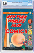 Golden Age (1938-1955):Superhero, New York World's Fair Comics 1939 (DC, 1939) CGC VG 4.0 Off-white to white pages....